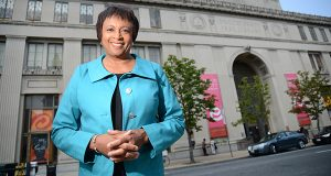 07-30-14 BALTIMORE, MD-  Dr. Carla D. Hayden, CEO of the Enoch Pratt Free Library. (The Daily Record/Maximilian Franz)