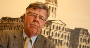 Baltimore City Solicitor George A. Nilson will step down Wednesday. (File photo)