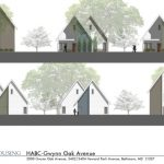 Cross Street Partners' Gwynn Oak Avenue homes will be single-family homes for people with disabilities in the Lake Ashburton neighborhood. The project is financed in part through an award from the Baltimore City Housing Authority. (Courtesy of Cross Street Partners)