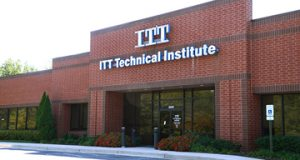 The ITT Technical Institute Building in Owings Mills, one of the company's 130 facilities that are being closed. (Maximilian Franz / The Daily Record)
