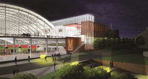 The $155 million transformation of Cole Field House into a football and academic complex. Funding for the project includes a $25 million pledge from Under Armour CEO Kevin Plank, as well as donations, the university and the state. (University of Maryland)