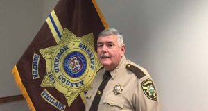 Howard County Sheriff James F. Fitzgerald. (Howard County Sheriff's Office photo)