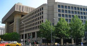 "FBI headquarters in 2008. Maryland officials expressed frustration Tuesday over the federal government's decision to delay picking a site for the FBI's consolidated headquarters until March.(Flickr / zaimoku_woodpile / ""FBI Headquarter"" https://flic.kr/p/8u6ySh / CC BY 2.0 https://creativecommons.org/licenses/by/2.0/ / cropped and resized)"