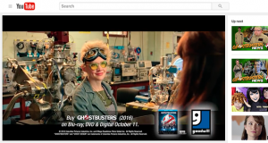 Goodwill Industries has published videos promoting the video release of Ghostbusters which also describe how to build costumes to portray characters from the film using materials found in Goodwill's stores.