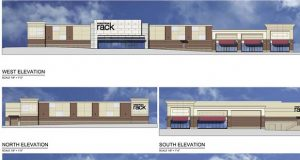 Rendering of Nordstrom Rack at Woodmore Towne Centre (PRNewsFoto/Petrie Richardson Ventures)