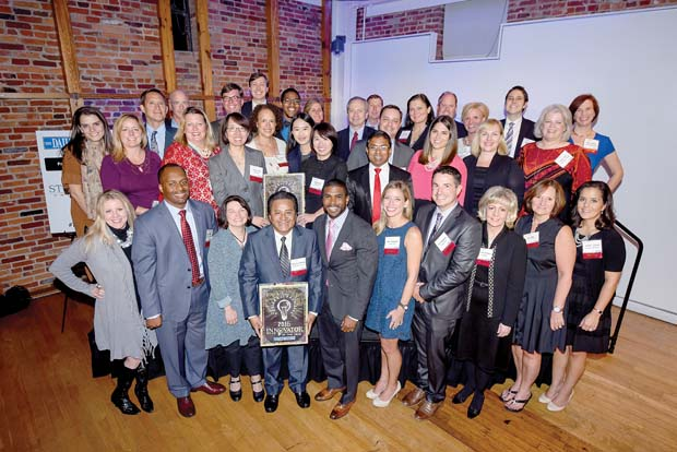 The Daily Record recognized 31 innovators for their creative accomplishments during an event at the American Visionary Art Museum in Federal Hill. (The Daily Record / Maximilian Franz)