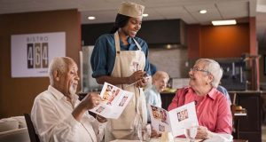Sodexo Launches Bistro 464 this month, a new dining concept appealing to the Baby Boomer generation. (PRNewsFoto/Sodexo)
