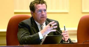 Judicial officers 'are supposed to be neutral and impartial and not an investigative body,' Maryland District Court Chief Judge John P. Morrissey Morrissey told lawmakers Wednesday as they consider whether to re-introduce legislation to transfer the responsibility from the Office of the Public Defender to the Judiciary. (Maximilian Franz/The Daily Record)