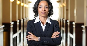12.28.10 Upper Marlboro, MD. L To R- Angela Alsobrooks, the first woman elected States Attorney in Prince George's County. She takes office on January 4th 2010. Portraits around the PG County Courthouse. (Maximilian Franz/ The Daily Record).