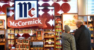 McCormick World of Flavors store in the Light Street Pavilion at the Baltimore Harborplace. (The Daily Record/Maximilian Franz)