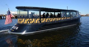 11-7-2016 BALTIMORE, MD- Photos at the unveiling of the new Baltimore Water Taxi which is a collaboration between Sagamore Ventures and Maritime Applied Physics Corporation.   (The Daily Record/ Maximilian Franz).