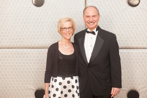 Ellen Chrencik, left, and Robert Chrencik, president and CEO of the University of Maryland Medical System, joined the nearly 900 guests at Starnight, The Upper Chesapeake Health Foundation's biennial gala. (Submitted photo by Edwin Remsberg)