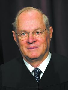 ** FILE ** Associate Justice Anthony M. Kennedy is seen at a portrait session at the Supreme Court Building in Washington, Monday, Oct. 31, 2005. Kennedy had a stent , a tiny mesh scaffold used to keep arteries open inserted on Saturday, Sept. 2, 2006, at a Washington hospital after he experienced mild chest pains. The court also disclosed this was a revision to a stent doctors put in Kennedy in November 2005. (AP Photo/J. Scott Applewhite)