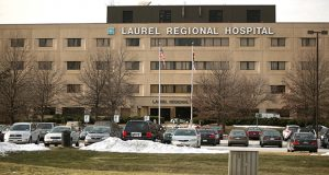 Laurel Regional Hospital in 2010. (The Daily Record/Rich Dennison)