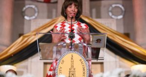 Baltimore Mayor Catherine Pugh.