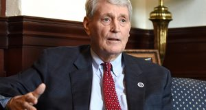 House Speaker Michael E. Busch. (The Daily Record / Maximilian Franz)