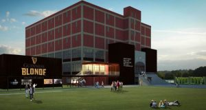 An artist's rendering of the proposed Guinness Open Gate Brewery in Baltimore County. (Courtesy Diageo Beer Co. USA)