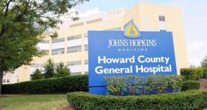 Howard County General Hospital in Columbia. (File photo)