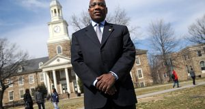 Dr. David Wilson, President of Morgan State University. (The Daily Record/Maximilian Franz).