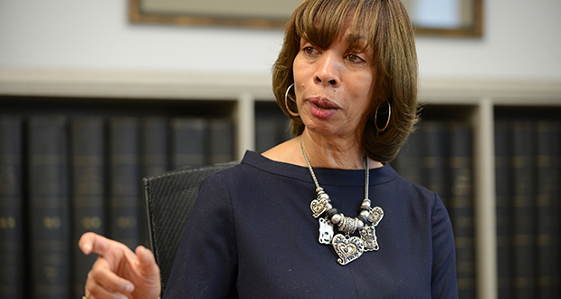 Baltimore Mayor Catherine Pugh (The Daily Record / Maximilian Franz)