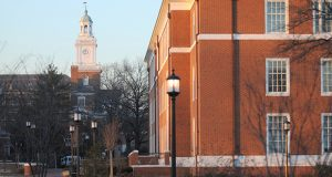 Johns Hopkins Univerity in Baltimore. (Maximilian Franz / The Daily Record)