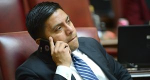 Sen. Victor Ramirez, D-Prince George's, sponsored cross-filed legislation with the House of Delegates to allow domestic violence orders to be introduced as evidence as divorce proceedings, only to see the bill edited in the Senate Judicial Proceedings Committee. 'I don't particularly agree with how it was amended but that's how we were able to get it out of committee,' he told delegates Thursday. (File photo)