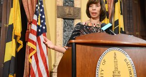 Baltimore Mayor Catherine Pugh. (The Daily Record / Maximilian Franz)