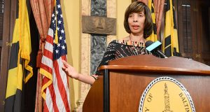 Mayor Catherine Pugh (file photo)