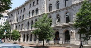 The 4th U.S. Circuit Court of Appeals, housed at the Lewis F. Powell Jr. U.S. Courthouse in Richmond, Virginia. (U.S. General Services Administration)