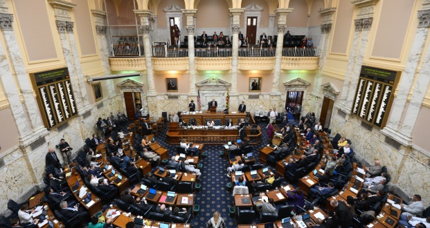 The Maryland General Assembly passed a bill earlier this month to eliminate references to gender and classify all nonconsensual sexual violations as rape. A spokeswoman for Gov. Larry Hogan says he will sign the legislation into law. (Maximilian Franz/The Daily Record)