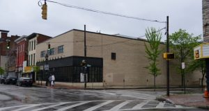 The building at 1200 W. Baltimore St. was once owned by a local nonprofit that, with a grant from The Harry and Jeanette Weinberg Foundation, was supposed to be space for adult literacy programs. Instead, the foundation alleges the nonprofit sold it without the foundation's consent and then leased the space for a for-profit business incubator. (Maximilian Franz/The Daily Record)
