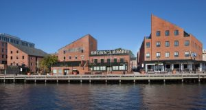 Brown's Wharf (Courtesy Lawrence Howard & Associates)
