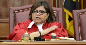 Judge Michele Hotten on the bench at the Court of Appeals (File)
