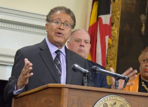 Retired U.S. District Judge Alexander Williams, shown in a 2017 photo, is the Democratic co-chair of the governor's commission to redraw the state's 6th Congressional District bounndaries. (File Photo / Bryan P. Sears)
