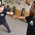 Jennifer Lake offered entrepreneurs advice from the martial arts she practices and teaches – It's not the end result, she said, but the journey that's important. (The Daily Record / Maximilian Franz)