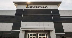 Sandy Spring Bank in Columbia, Md. (Sandy Spring Bank photo)
