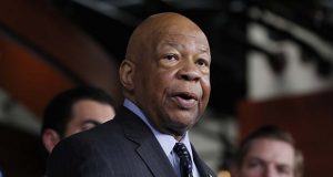 FILE - In this May 17, 2017 file photo, Rep. Elijah Cummings, D-Md. speaks during a news conference on Capitol Hill in Washington.  (AP Photo/Alex Brandon, File)