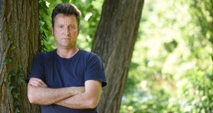 Hugh Pocock and his two sons 'could hear the sound of the bullets cutting the air' Monday during their hike at Gunpowder Falls State Park. No one was injured and police are investigating, but the incident raised questions for Pocock about the rights of gun owners versus the safety of hikers. (Maximilian Franz/The Daily Record)