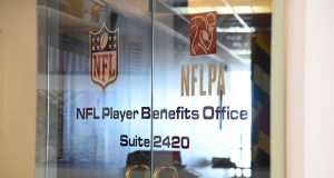 The National Football League's pension plan is administered in Baltimore, at the NFL Player Benefits Office. (The Daily Record / Maximilian Franz)