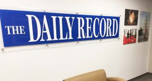 The Daily Record lobby. (Staff photo)