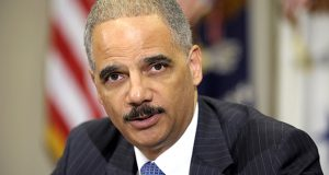 The American people must 'encourage, not limit participation' in elections, former U.S. Attorney General Eric H. Holder Jr. told attendees of the NAACP's annual convention Monday in Baltimore. (File photo)