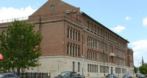 Sojourner-Douglass College's building in East Baltimore. (File photo)