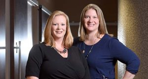 Dr. Robin Motter-Mast, left, and Dr. Katherine Harrison-Restelli. (The Daily Record / Maximilian Franz)