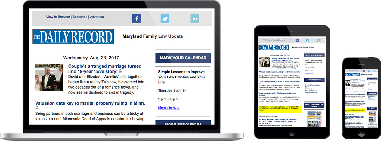 Maryland Family Law