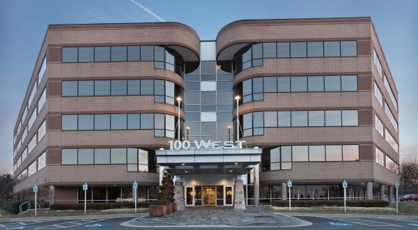 Merritt Properties purchased 100 West Road for an undisclosed price. (Photo courtesy of Merritt Properties)