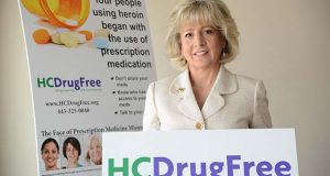 Joan Webb Scornaienchi, executive director of HC DrugFree. (The Daily Record / Maximilian Franz)