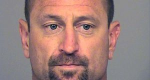 This undated booking photo provided by the Ventura County Sheriff shows Andrew David Jensen, 42, of Ventura, Calif., who was arrested on July 28, 2017. on suspicion of committing a burglary. California investigators say Jensen, a suspect who stopped for a mid-burglary bathroom break left DNA evidence in the toilet that led to his arrest. The Ventura County Sheriff's Office says the suspect neglected to flush during the home break-in last October in Thousand Oaks, Calif. (Ventura County Sheriff via AP)