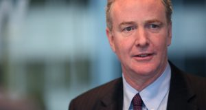 U.S. Sen. Chris Van Hollen, D-Md., is expected address potential U.S. Department of Housing and Urban Development budget cuts Friday in east Baltimore. (Julia Schmalz / Bloomberg via Getty Images)