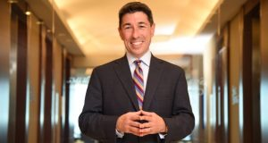 'This is a once-in-a-lifetime opportunity to create a new organization, affect positive change and truly focus on this as a combination,' says Jason St. John, the Baltimore-based head of the integration for Saul Ewing Arnstein & Lehr LLP, who has traveled to the firm's offices across the country since the merger was formalized Sept. 1. (Maximilian Franz/The Daily Record)