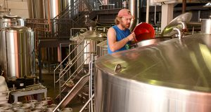 The current Flying Dog Brewery brew room.(The Daily Record / Maximilian Franz)